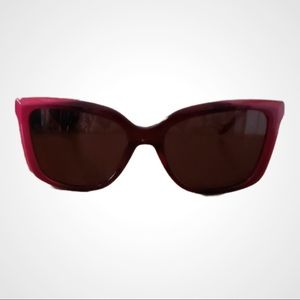 Coach Square Cat Eye Berry Ombre Sunglasses